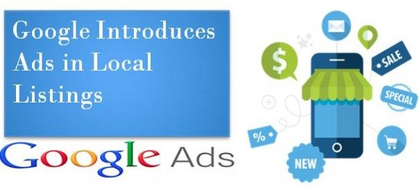Google Introduces Ads in Local Listings